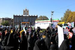 راهپیمایی ۱۳ آبان تبریز