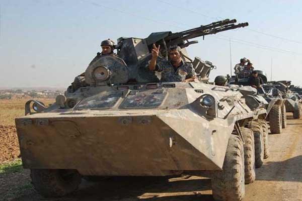 نیروهای عراقی به داعش در منطقه الانتصار موصل حمله کردند