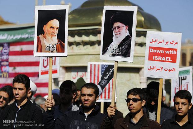 Nov. 4 rallies in central Iran -Qom