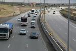 رکورد تردد در اتوبان تهران - قم شکسته شد