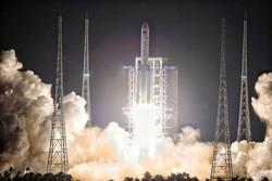 قدرتمندترین راکت چینی به فضا پرتاب شد