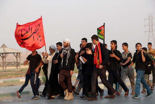 Journey of lovers begins in Ahvaz