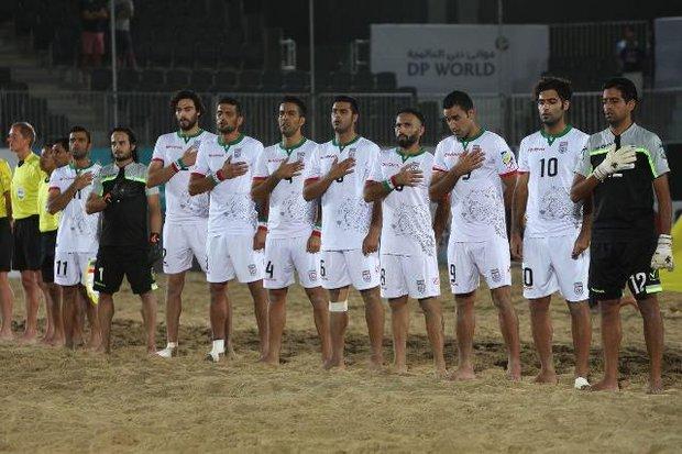 زمان بازگشت تیم ملی فوتبال ساحلی اعلام شد