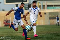 دیدار تیم های فوتبال استقلال اهواز و ملوان