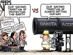 Dakota Access Pipeline protests