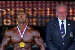 ورزشکار سرابی در مسابقات پرورش اندام اسپانیا قهرمان شد