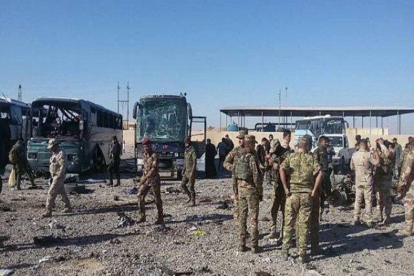 شهداء وجرحى بينهم زوار ايرانيون بانفجار في مرآب نقل المسافرين بسامراء