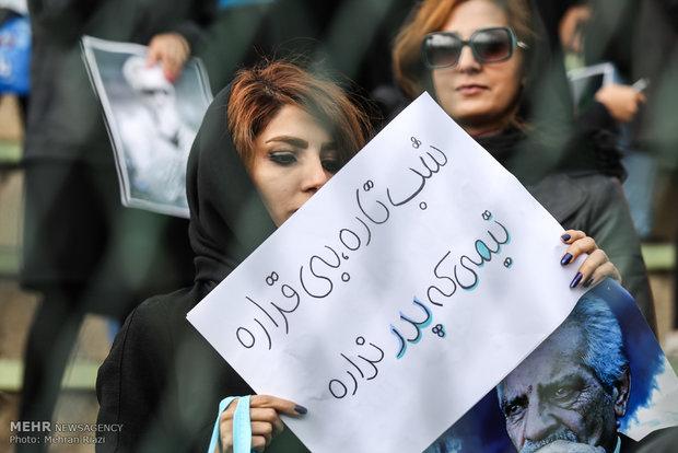 تشییع پیکر مرحوم منصور پور حیدری