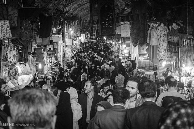 انعکاس / تصاویر ثبت شده از بازار تهران