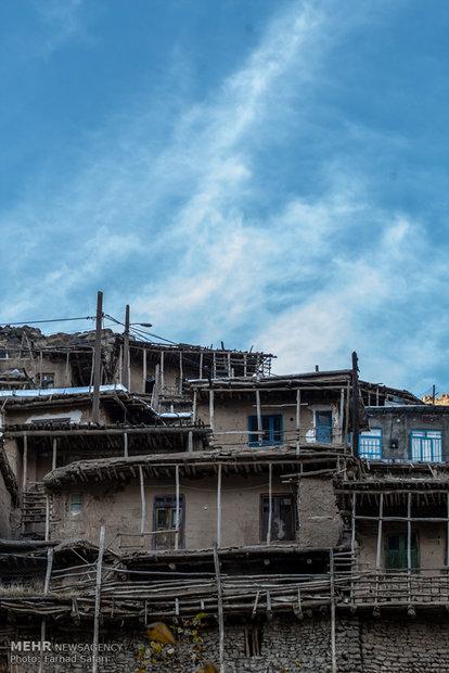 İran'da göz kamaştıran bir köy