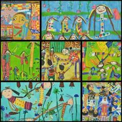 موفقیت کودکان کرمانشاهی درمسابقات بین المللی هنرهای زیبا«لیدیسه»