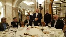 ظريف: الاتفاق النووي لم يمنح القوة لايران بل ازال عقبات احتواء قوتها