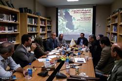 نشست بررسی آلودگی دریای خزر و طرح انتقال آب در مؤسسه مطالعاتی ایراس