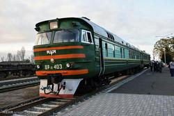مهدی حسین نژادی / راه اندازی آزمایشی قطار حوزه مرزی آستارای جمهوری آذربایجان