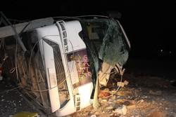 کراپشده - تصادف اتوبوس