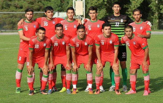 منتخب شباب  ايران لكرة القدم يخسر أمام نظيره الكوري الجنوبي