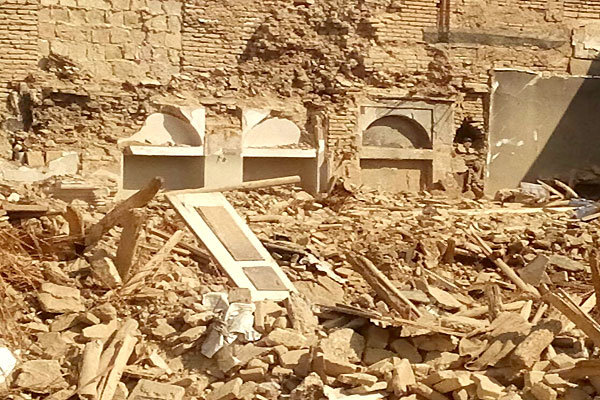 خانه تخریب شده در شیراز فاقد ارزش ثبتی بوده است