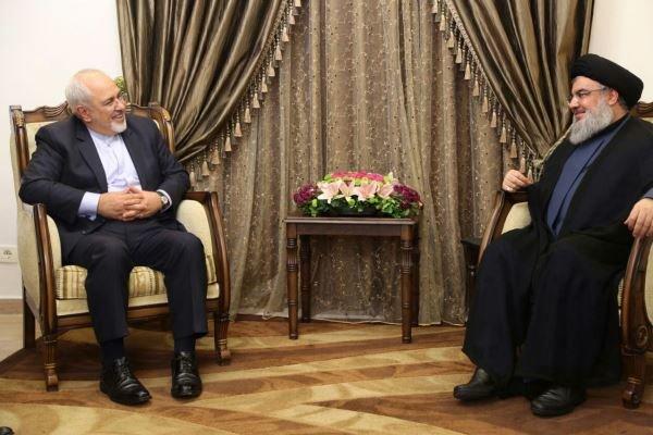 Zarif, Seyyid Hasan Nasrullah'la görüştü