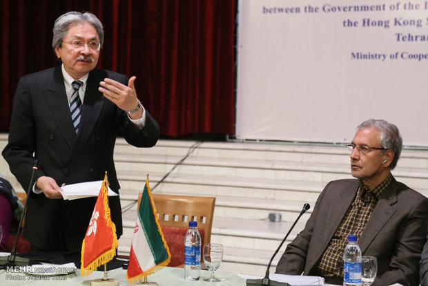 Iran, Hong Kong hold meeting on economic coop.