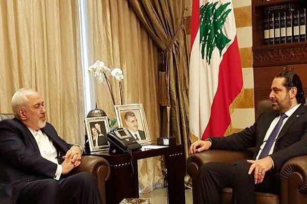 Zarif ve Saad Hariri görüştü