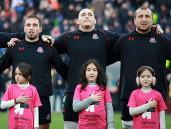 Georgian rugby UNiTEs to end violence against women