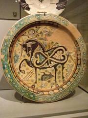 An early-Islamic era earthenware bowl