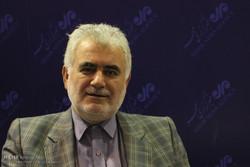 ناصر مهردادی مدیرکل محیط زیست استان تهران ششمین روز بیست و دومین نمایشگاه مطبوعات و خبرگزاریها -2