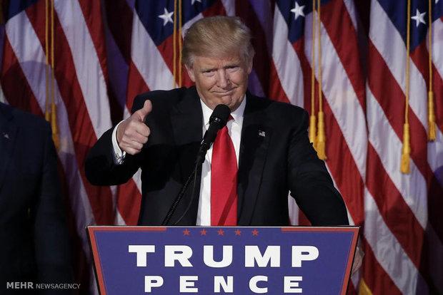 پیروزی دونالد ترامپ در انتخابات آمریکا