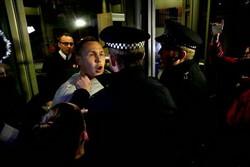 تظاهرات علیه ترامپ به لندن نیز کشیده شد