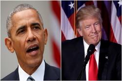 ترامپ: اگر اوباما کارهای مرا میکرد، فورا تعطیلات اعلام میشد