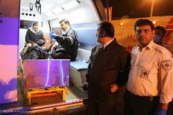 ورود زائران مصدوم و فوتی حادثه خودرویی العماره عراق از مرز چذابه
