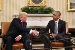 اوباما: گفتگوها با دونالد ترامپ «عالی» بود