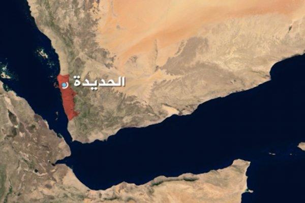 Saudi-led Coalition's warplanes bombing Hudaida airport