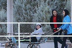 واکنش فدراسیون فوتبال به حمل بازیکن مصدوم تیم دختران با گاری!