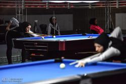 رنکینگ کشوری پاکت بیلیارد بانوان در شیراز