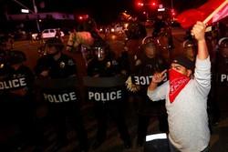 شناسایی معترضان آمریکا با فناوری تشخیص چهره پلیس