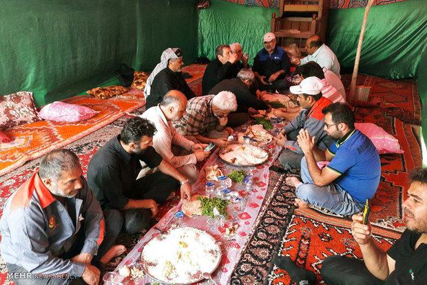 اقامة موكب محافظة كلستان في كربلاء المقدسة