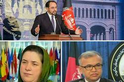 سلب اعتماد پارلمان افغانستان از سه وزیر کابینه دولت وحدت ملی