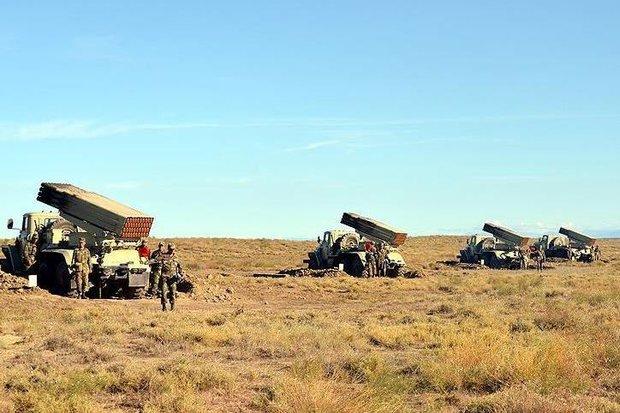 Azerbaycan ordusundan geniş kapsamlı askeri tatbikat