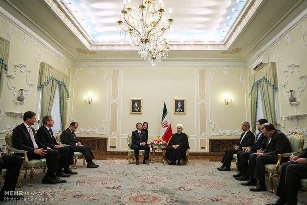 دیدار رئیس مجلس مجارستان با رئیس جمهور
