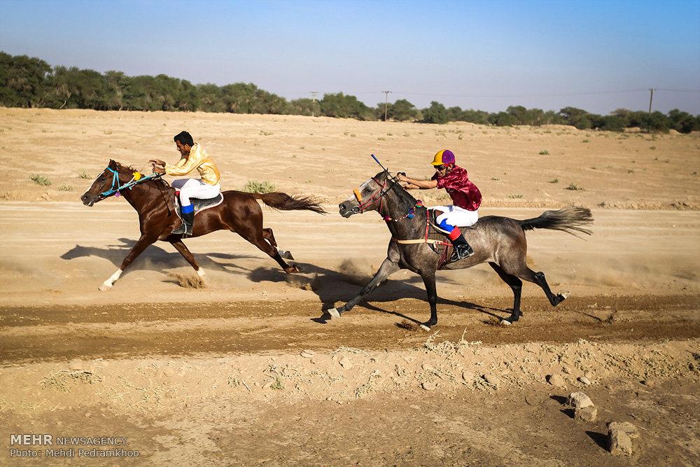 مسابقات اسبدوانی پاییزه در سوسنگرد
