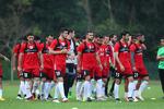 National football team departs for Doha