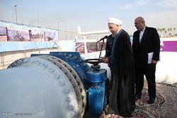 روحاني يدشن عدداً من المشاريع التنموية في الأهواز  /صور