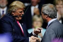 ترامپ و فارج