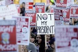 پلیس آمریکا ۱۹ معترض را در «پورتلند» بازداشت کرد