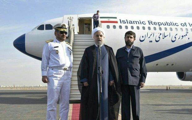 روحاني يعلن عن إفتتاح 3 مشاريع نفطية كبيرة في محافظة خوزستان