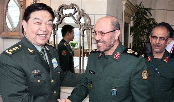 Chinese defense min. arrives in Tehran