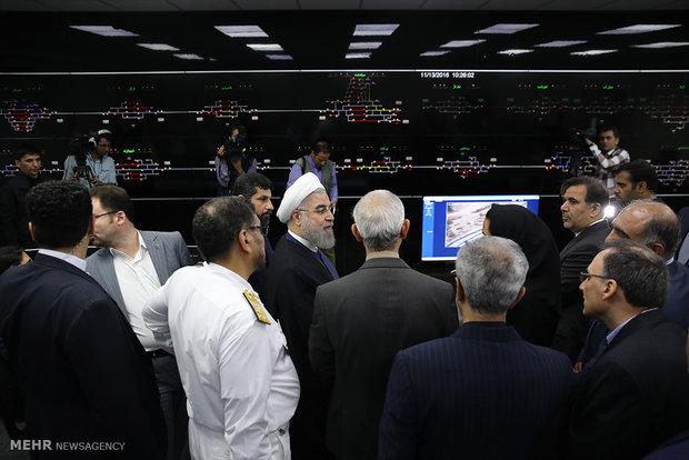Rouhani visits Ahvaz on provincial tour