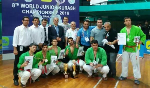 الفريق الايراني للكوراش يحرز لقب الوصيف في بطولة اسيا