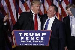«ترامپ» مشاور ارشد و رئیس دفتر خود را انتخاب کرد
